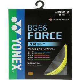 ヨネックス Yonex バドミントンストリング BG66フォース FORCE BG66F