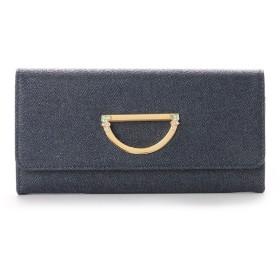 サマンサタバサプチチョイス VioletD(バイオレット D) お財布シリーズ デニムバージョン 長財布 インディゴ