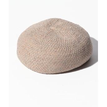 【46%OFF】 アン レクレ ベレー帽 レディース ブラウン系 F 【en recre】 【セール開催中】