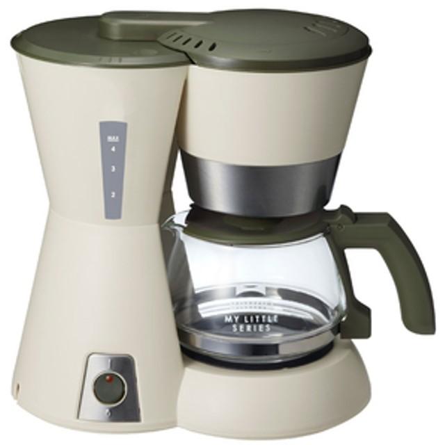 イデアインターナショナル4カップコーヒーメーカーBRUNOベージュBOE046-BE
