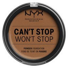 NYX Professional Makeup(ニックス) キャントストップ ウォントストップ フルカバレッジ パウダーファンデーション 15.7
