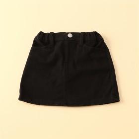 コムサイズム COMME CA ISM ジャージーストレッチツイル タイトスカート (ブラック)