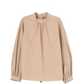 [ELENDEEK]STAND COLOR PULLOVER BL
