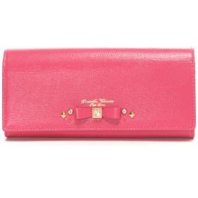 サマンサタバサプチチョイス ビジューリボンモチーフ 長財布(ピンク)