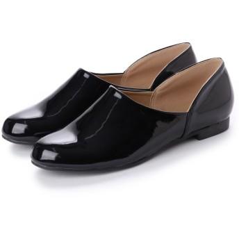 SFW リバティードール Liberty Doll マニッシュな雰囲気'で様々なスタイルに合わせやすい♪今年のマストアイテムおじ靴マニッシュドクターシューズ 5514 (ブラックエナメル)