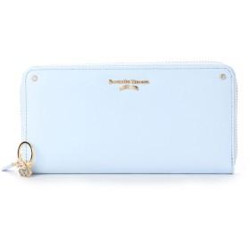サマンサタバサプチチョイス バースデーストーンシリーズ ラウンドジップ長財布(ライトブルー)