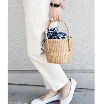 SHIPS for women / シップスウィメン VT THAI:【SHIPS別注】ラウンドカゴバッグ◇