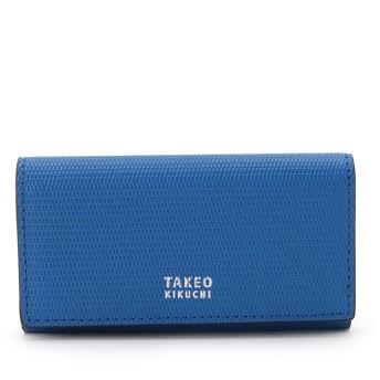 タケオ キクチ TAKEO KIKUCHI ミニメッシュキーケース [ メンズ キーケース 定番 ギフト プレゼント ] (ブルー)