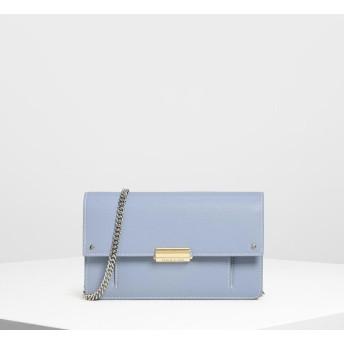 コテージスリング チェーンウォレット / Cottage Sling Chain Wallet (Blue)
