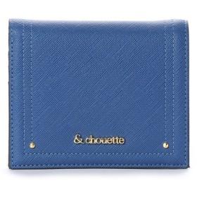 &シュエット シンプルミニ財布 ブルー