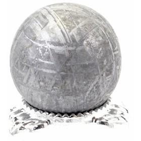 約27mm 天然隕石 メテオライト ギベオン鉄隕石 丸玉 スフィア【FORESTパワーストーン】 〔D02-12〕