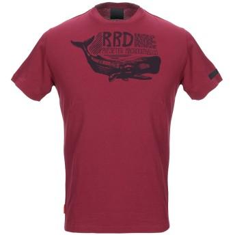 《セール開催中》RRD メンズ T シャツ ボルドー 46 コットン 100%