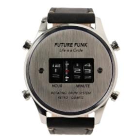 【予約】FUTURE FUNK / FF102 ANA-DEGI ウォッチ(シルバー) メンズ 腕時計 SILVER ONE SIZE