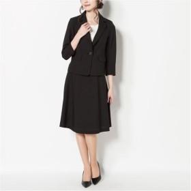 30%OFF【レディース】 洗えるスカートスーツ ■カラー:ブラック ■サイズ:5号(プチサイズ),9号,11号,7号