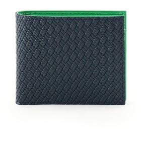 タケオ キクチ TAKEO KIKUCHI マルチカラー2つ折り財布 [ 財布 二つ折り カラフル ] (グリーン)