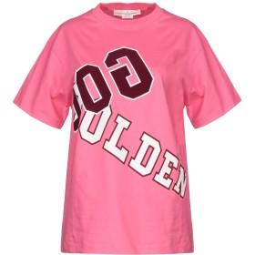 《セール開催中》GOLDEN GOOSE DELUXE BRAND レディース T シャツ ピンク XS コットン 100%