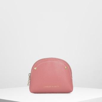 セミサークル ミニポーチ / Semicircle Mini Pouch (Pink)