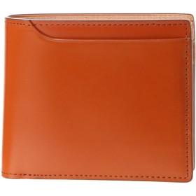 ミラグロ Milagro コードバン 2つ折り財布 (キャメル)