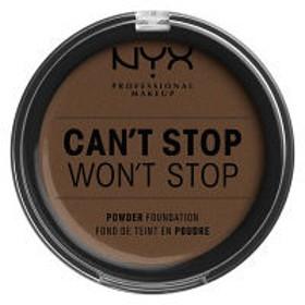 NYX Professional Makeup(ニックス) キャントストップ ウォントストップ フルカバレッジ パウダー ファンデーション 22カラー・ディープ