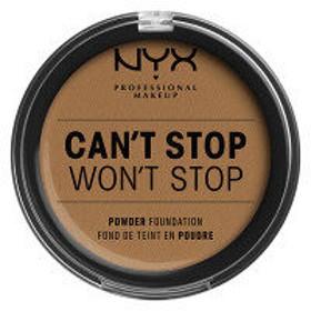 NYX Professional Makeup(ニックス) キャントストップ ウォントストップ フルカバレッジ パウダーファンデーション 15.9ウォームハニー