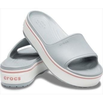 crocs クロックス クロックバンド プラットフォーム スライド サンダル 205631