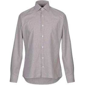 《期間限定セール開催中!》HERMAN & SONS メンズ シャツ カーキ 39 コットン 100%