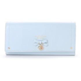 サマンサタバサプチチョイス ハートリボンシリーズ 長財布(ライトブルー)