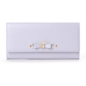 サマンサタバサプチチョイス ビジューモチーフ 長財布(パステルカラーバージョン)(ラベンダー)
