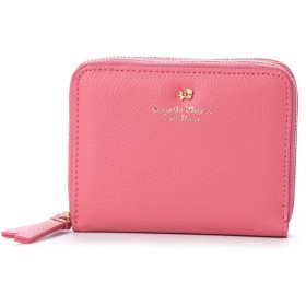 サマンサタバサプチチョイス ソフトレザースターモチーフシリーズ(ダブルラウンド財布) ピンク