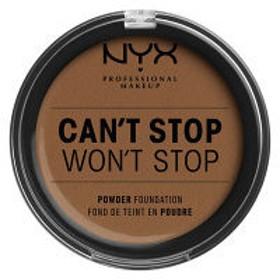 NYX Professional Makeup(ニックス) キャントストップ ウォントストップ フルカバレッジ パウダーファンデーション 17カラー・カプチーノ