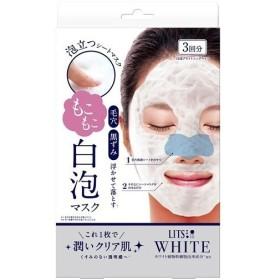 リッツ ホワイト もこもこ 白泡ブライトニングマスク ( 3枚入 )/ リッツ(化粧品)