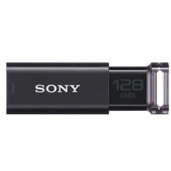 ソニー USBメモリー 128GB USM128GU B ブラック