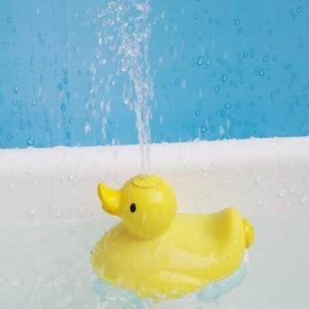 バストイ/エレクトリカルシャワーパーティ(イエロー)[お風呂のおもちゃ アヒル あひる 子ども玩具 水鉄砲 かわいい 子どもの日]