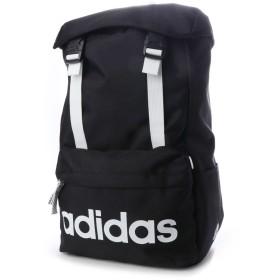 アディダス adidas リュック 20L かぶせ (ブラック×ホワイト)