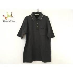 マンシングウェア Munsingwear 半袖ポロシャツ メンズ 美品 ダークグレー   スペシャル特価 20190711