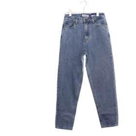 ゲス GUESS MARILYN MARILYN HIGH RISE SLIM TAPERED DENIM PANT 【JAPAN EXCLUSIVE ITEM】 (LIGHT INDIGO BLUE