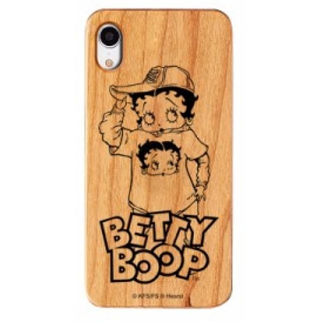 iPhoneXR ケース Betty Boop ベティー ブープ iPhone XR ウッドケース Gizmobies ギズモビーズ Street お取り寄せ