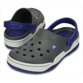 [crocs]クロックス フロント コート クロッグ (14300)(0F2) チャコール/Cブルー[取寄商品]