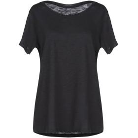 《期間限定セール開催中!》POLINESYA レディース T シャツ ブラック M コットン 100%