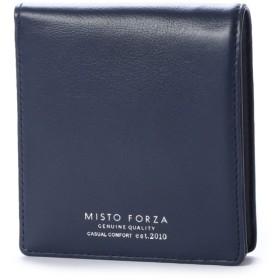 ミストフォルツァ Misto forza ミストフォルツァ【Misto Forza】カードケース付き二つ折り財布 (ネイビー)
