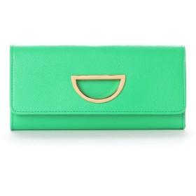 サマンサタバサプチチョイス VioletD(バイオレット D) お財布シリーズ 長財布(グリーン)