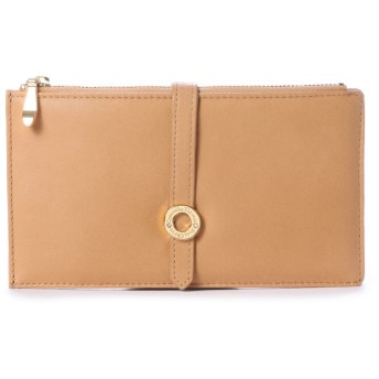 サマンサタバサプチチョイス シンプルリングモチーフシリーズ(多機能財布) ブラウン