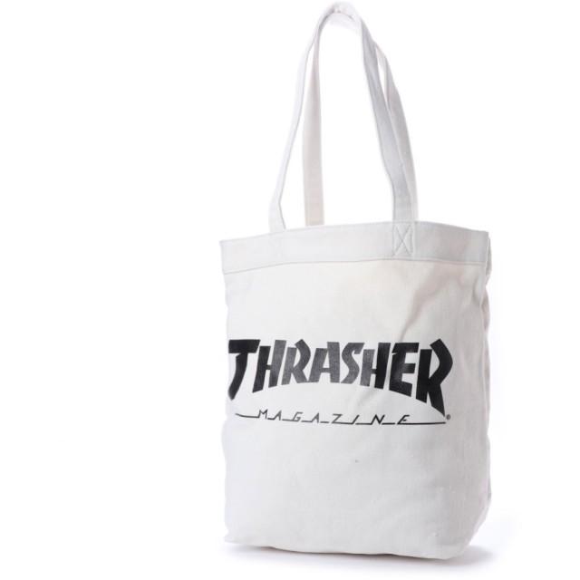 スラッシャー THRASHER THRASHER/スラッシャー トートバッグ (ホワイト)