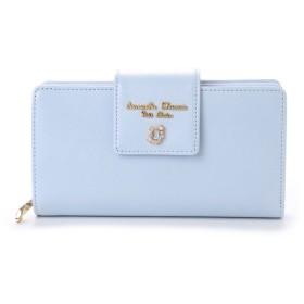 サマンサタバサプチチョイス ビジューシリーズ 折財布(ライトブルー)