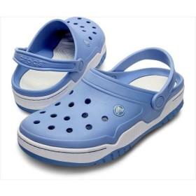 [crocs]クロックス フロント コート クロッグ (14300)(470) ライトブルー/ホワイト[取寄商品]