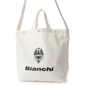 ビアンキ【Bianchi】ロゴ入りキャンバス (ブラック)