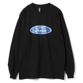 ZIQ & YONI / プリント ロング スリーブ Tシャツ メンズ Tシャツ BLACK S