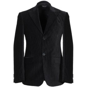《期間限定セール開催中!》ALESSANDRO GILLES メンズ テーラードジャケット ブラック 54 コットン 100%