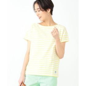 ビームス ウィメン ORCIVAL / ボーダー Tシャツ レディース WHITE/LTYELLOW ONESIZE 【BEAMS WOMEN】