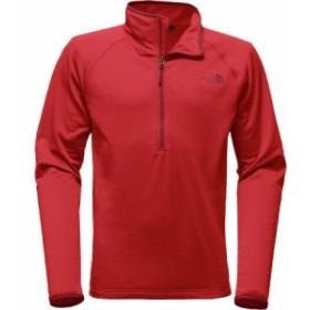 (取寄)ノースフェイス メンズ ボアード 1/4-Zip フリース ジャケット The North Face Men's Borod 1/4-Zip Fleece Jacket High Risk Red
